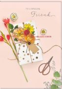Special Friend Gift Birthday Card